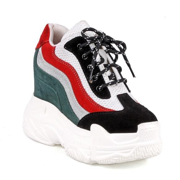 efe284d58605 Blueberry Colorblock Women s Platform Sneakers